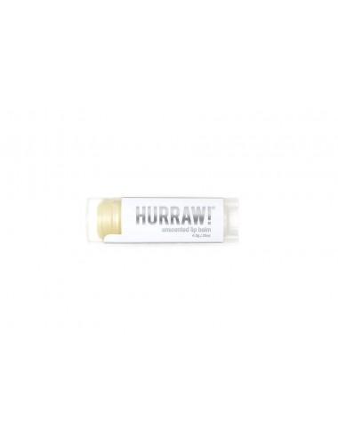 Hurraw Baume à Lèvres Végan Sans Parfum 4,3g