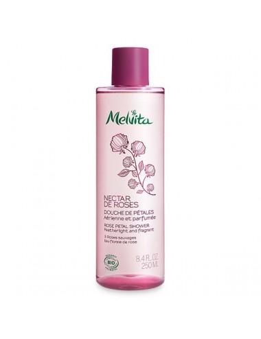 Melvita nectar de roses douche pétales 250ml