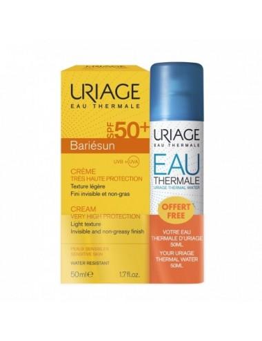 Uriage Bariésun Crème SPF50+ 50ml + Eau Thermale 50ml Offerte