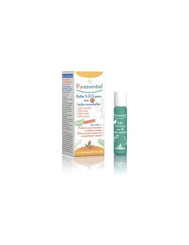 Puressentiel SOS peau roller aux 11 huiles essentielles