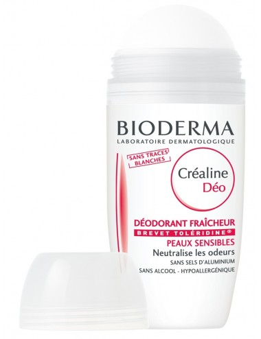 Bioderma créaline déodorant fraicheur roll-on