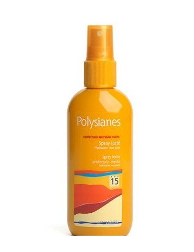 Polysianes spray lacté SPF15 125ml