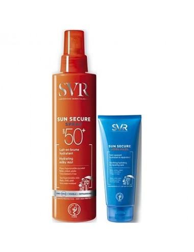 SVR Sun Secure Trousse Spray Spf50+ 200ml + Après-Soleil 50ml