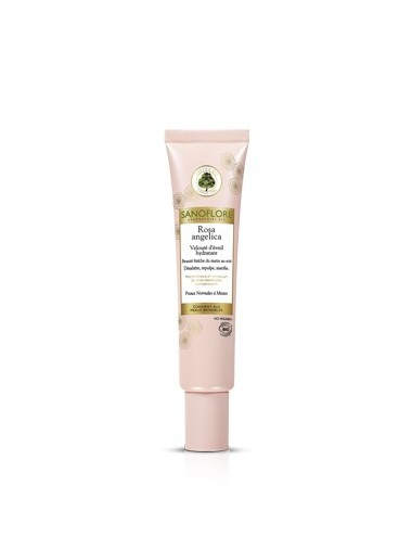 Sanoflore rosa angelica velouté d'éveil peaux normales à mixtes 40ml