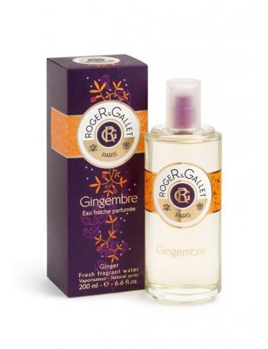 Roger & Gallet gingembre eau fraiche parfumée 200ml