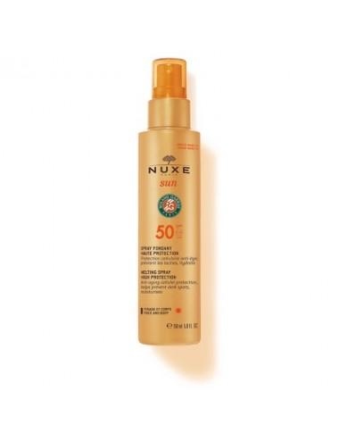 Nuxe Sun Spray Solaire Haute Protection SPF 50 Rolland Garos 150ml