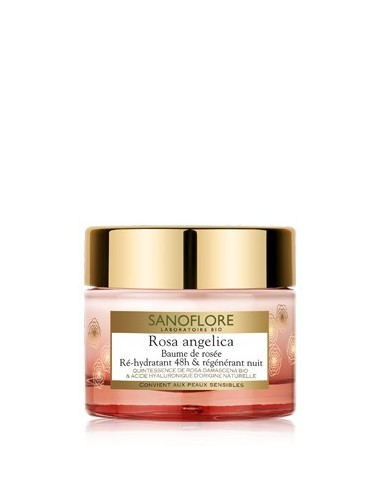 Sanoflore rosa angelica baume régénérant nuit 50ml