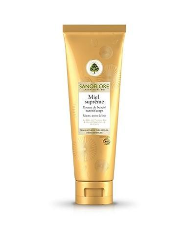 Sanoflore miel supreme baume de beauté nutritif 150ml