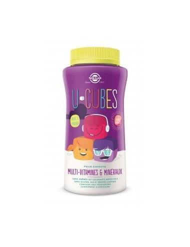 Solgar U-Cubes Enfants Multi-vitamines et Minéraux 60 Gummies