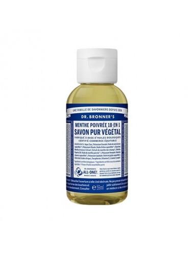 Dr.Bronner's savon pur menthe 59ML