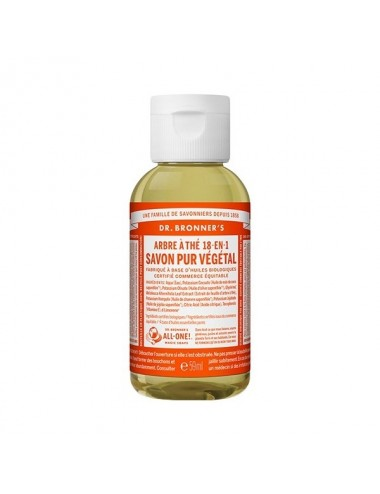 Dr.Bronner's savon pur tea tree 59ML