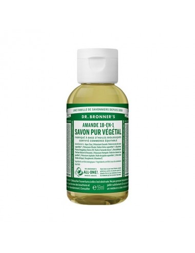 Dr.Bronner's savon pur amande 59ML
