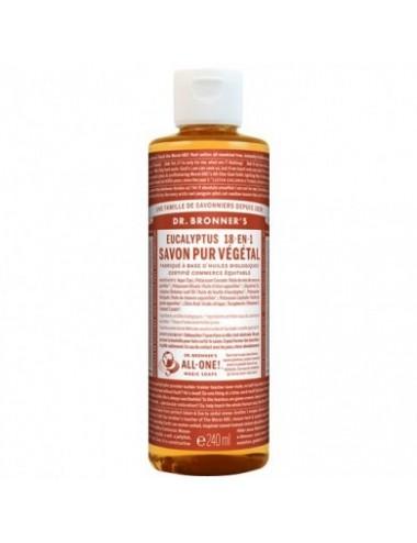 Dr.Bronner's savon pur amande 473ML