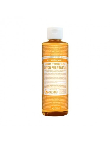 Dr.Bronner's savon pur agrumes 473ML