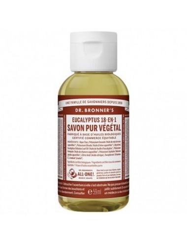 Dr.Bronner's Savon pur Eucalyptus 59ml