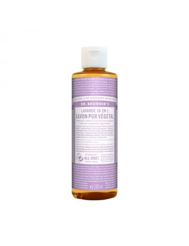 Dr.Bronner's savon pur lavande 473ML