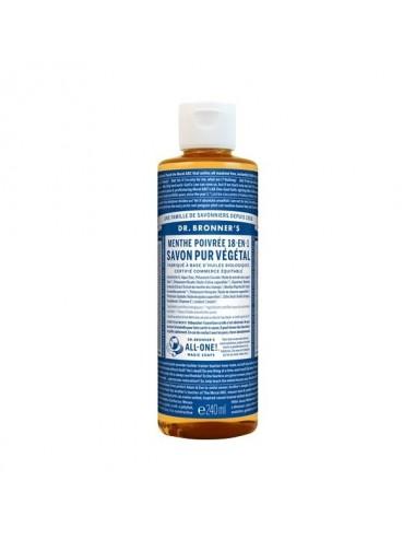 Dr.Bronner's savon pur menthe 473ML