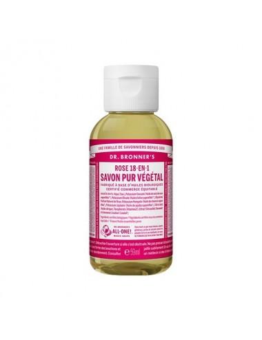 Dr.Bronner's savon pur rose 59ml
