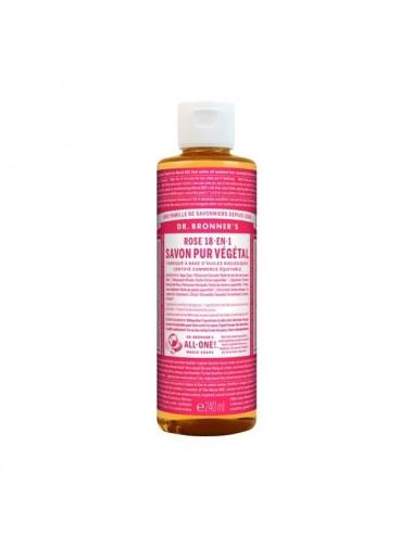 Dr.Bronner's savon pur rose 473ML