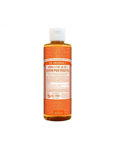 Dr.Bronner's savon pur tea tree 473ML