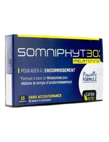 Santé Verte Somniphyt 30 Mélatonine 15 Comprimés