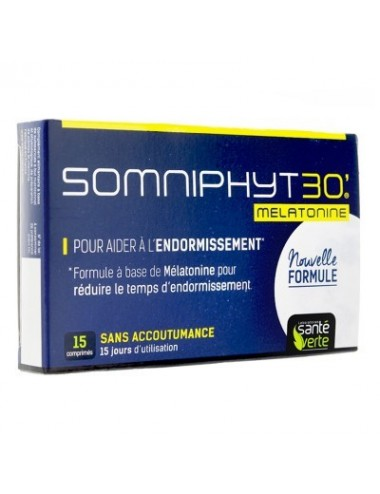 Santé Verte Somniphyt Total Nuit 1 mg 15 Comprimés