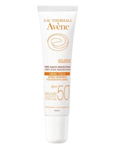 Avène solaire crème zones sensibles minérale SPF50 15ml