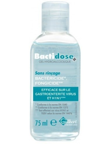 Bactidose gel hydroalcoolique 75ml