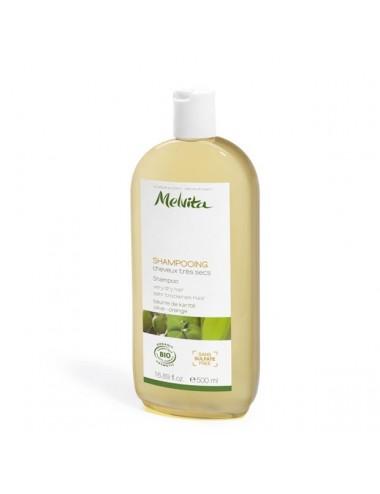 Melvita capillaire shampoing cheveux très secs 500ml