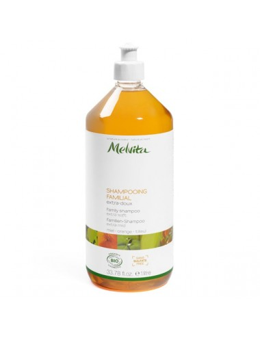 Melvita capillaire shampoing familial 1L