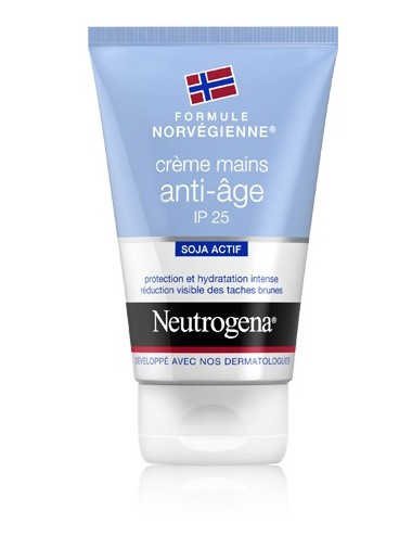 Neutrogena crème mains anti-âge SPF25