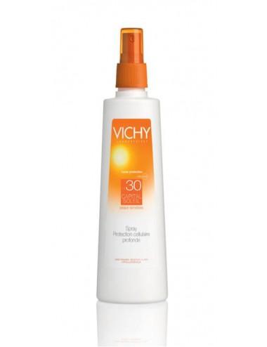 Vichy solaire spray IP30 visage et corps 200ml