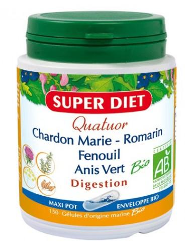 Super Diet quatuor bio digestion 150 gélules