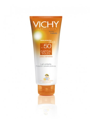Vichy solaire enfant lait visage et corps IP50 300ml