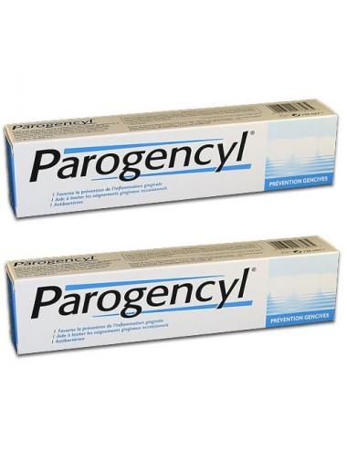 Parogencyl prévention gencives duo 2X75ml