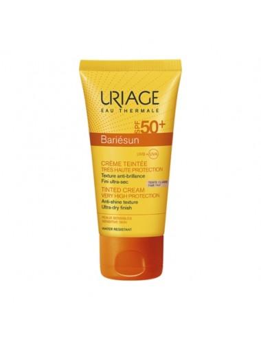 Uriage Bariésun - Crème Teintée Claire SPF50+ - Tube 50ml
