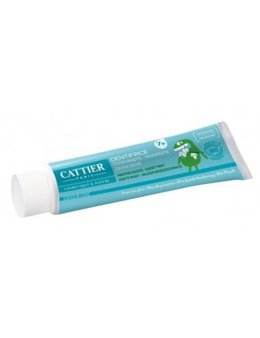 Cattier Kids Dentifrice Goût Menthe 7 Ans et + 50ml