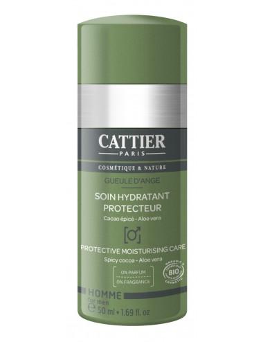 Cattier Homme Soin Hydratant Protecteur Gueule d'Ange 50 ml