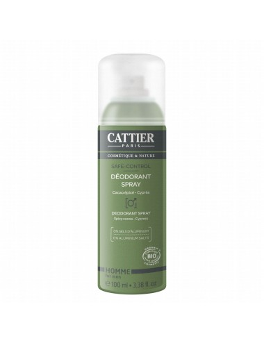Cattier Déodorant Spray Safe-Control 100ml