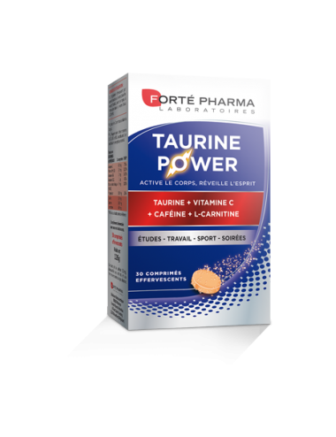 Forte Pharma Taurine Power 30 comprimés