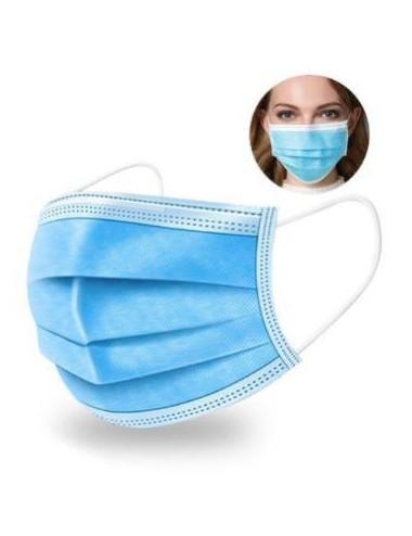 Masques Chirurgicaux 3 plis  élastiques norme EN149- unité