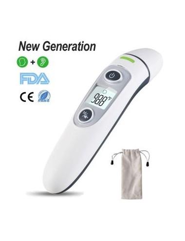 Vigorun thermomètre infrarouge frontal numérique auriculaire