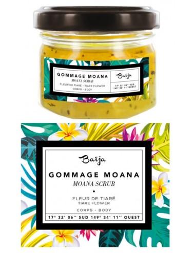 Baïja Gommage Corps Moana Fleur de Tiaré 82gr