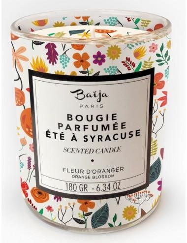 Baïja Bougie Été à Syracuse Fleur d'Oranger 180g