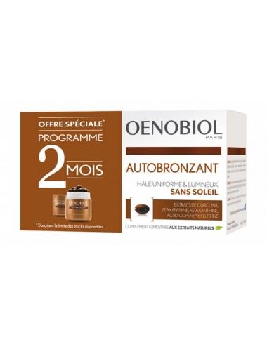 Oenobiol Solaire Autobronzant lot 30 caps x2
