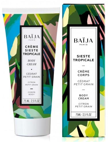 Baïja Crème Corps Sieste Tropicale Cédrat Petit Grain 75ml