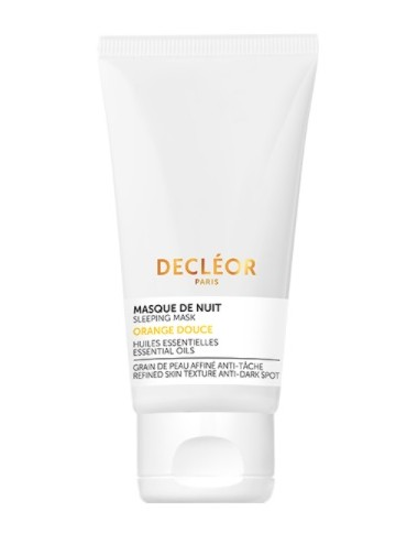 Decléor Orange Douce Masque de Nuit Hydratant Perfecteur de peau 50ml