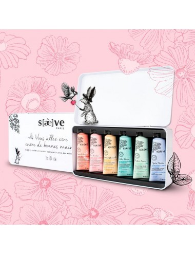 Saeve Coffret Metal 6 Creme Mains