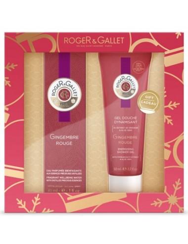 Roger&Gallet Coffret Noël Découverte Gingembre Rouge