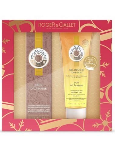 Roger&Gallet Coffret Noël Découverte Bois d'Orange